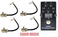 MXR Dunlop M82 Bass Envelope Filter Effects Pedal M-82 ( 4 MXR PATCH CABLES )