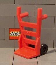 LEGO 2 Wheel Sack Barrow Luggage Trolley Train Station Minifigure Accessory NEW