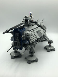 Lego Star Wars AT-TE 501st Theme 100% COMPLETE AND INVENTORIED (75019)