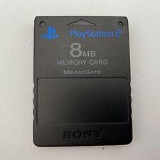 Sony PlayStation 2 Speicherkarte Memorycard 8 MB Original Rar Speicher PS2