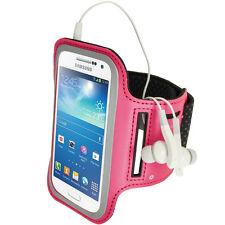 Pink Rosa Anti-Rutsch Sports Armband für Samsung Galaxy S4 SIV Mini I9190 I9195
