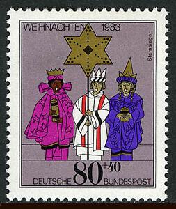 Germany B615, MNH. Christmas. Carolers, 1983