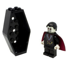 LEGO Vampire Dracula Monster Halloween Minifigure with Coffin