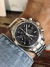 Omega Speedmaster Steel 3513.50 Black Dial Mens 38mm Automatic box 2005 watch