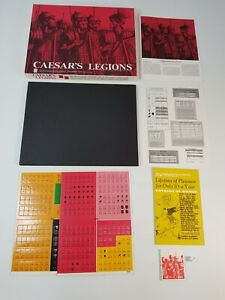Caesar's Legions Board Game Vintage Strategy Complete New Unpunched Avalon Hill