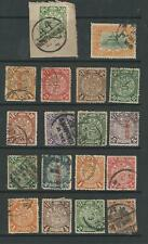 CHINA COILING DRAGON TEMPLE STAMPS POSTMARK INTEREST