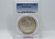 1891-O Morgan Silver Dollar $1 PCGS MS64