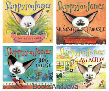 Skippyjon Jones, In the Dog House,Mummy Trouble & Class Action 4-Paperback Set