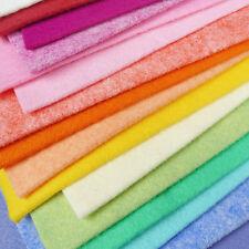 Woolfelt Sorbet Felt Pack / quilting wool blend heathered fabric handmade