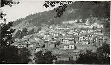 D1396 Nuoro - Desulo - Panorama - Stampa antica - 1928 old print
