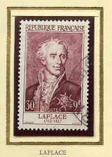 STAMP / TIMBRE FRANCE OBLITERE CELEBRITE N° 1031 PIERRE SIMON COTE 30 €