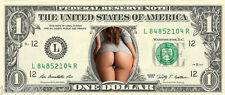 Big Booty Babe {Color} Dollar Bill - GREAT For Bachelor/Bday Party - REAL Money!