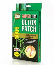 U.S. Jaclean Gold Bamboo Power Foot Detox Patch (8 Patches) Made in Japan