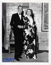 Clifton Webb Marlene Dietrich candid 1953 VINTAGE Photo