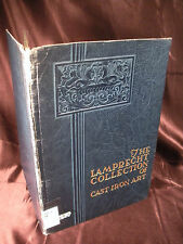 LAMPRECHT COLLECTION OF CAST IRON ART 1941 HC American CI Pipe Co Birmingham AL