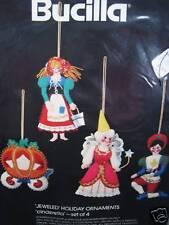 Christmas Bucilla Felt Applique Holiday Tree Ornament Kit,CINDERELLA,Prince,3584