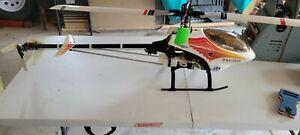Thunder Tiger Raptor 50 RC Helicopter w/JR 7 Channel Radio, Governor, Gyro heli