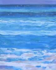 BEACH Ocean Wave Original Art PAINTING DAN BYL Investment Collector Canvas XXL