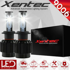 XENTEC LED HID Headlight kit 388W 38800LM 9006 6000K 2006-2010 Dodge Charger