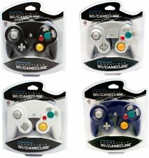4 BRAND NEW CONTROLLERS FOR NINTENDO GAMECUBE or Wii BLACK, WHITE, SILVER,PURPLE