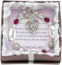 Expressively Yours LOVE MOTHER FOREVER Toggle Bracelet w/ Verse Card & Gift Box