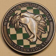Training Squadron Ten VT-10 NAS Pensacola Wildcats Navy Challenge Coin