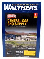 N Scale Walthers Cornerstone 933-3213 Central Gas & Supply Building Kit