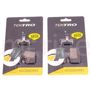 2Pair Tektro Bike E10.11 Disc Brake Pads w/ Spring OrionSL/Orion/Volans/Auriga