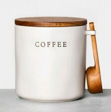 Hearth  and Hand  Magnolia Stoneware Coffee Canister