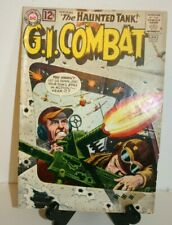 DC COMIC BOOK   G.I. COMBAT #97  THE HAUNTED TANK