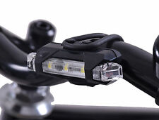 RSP ILUMENOX NEUTRO FRONT BIKE WRAP AROUND 5 LED BRIGHT LIGHT USB RECHARGEABLE