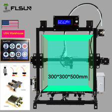 300*300*500mm I3 3DPrinter Auto-level Dual Nozzle Touch Screen+ USA Warehouse