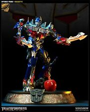 SIDESHOW EXCLUSIVE TRANSFORMERS OPTIMUS PRIME MOVIE Maquette .RaRe , NIB