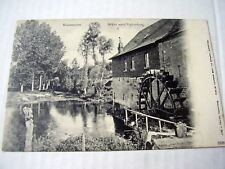 VERY OLD PPC: WATERMILL~WATERMOLEN~WIJLRE NABIJ VALKENBERG~ca 1904~UNDIVIDED