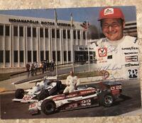 Dick Simon Indy 500 Autographed Photo 6x8