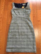 NWT Tory Burch Jaydon' Cotton Blend Sheath Dress Size 4
