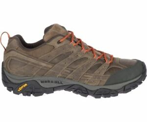 MM16 New Merrell Moab 2 Prime Lace Leather Trails Hiking Shoes Men 9 Brown