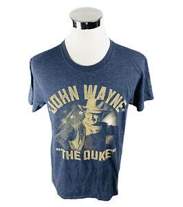John Wayne The Duke Dark Gray Short Sleeve T-Shirt Mens Large L
