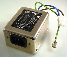 Pioneer AKP1255-A TV Okaya SUP-C14406-F-3 IEC Input Noise Filter 250V 5A OM0390A