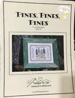 Pines, Pines, Pines Cross Stitch Pattern By Designs By Lisa