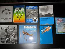 Fallschirmspringen - 8 Bücher von UNITED WE FALL bis HURRA WIR SPRINGEN