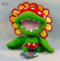 "Super Mario Brother 7"" Petey Piranha Plant Plush Toy Stuffed Doll"