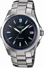 New!! CASIO OCEANUS OCW-S100-1AJF Titanium Tough Solar Radio Multiband 6 Men's