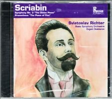 Evgeny SVETLANOV Sviatoslav RICHTER: SCRIABIN Symphony No.3 Prometheus Poem Fire