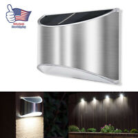 LED Solar Power PIR Motion Sensor Light Outdoor Garden Waterproof Wall Lamp