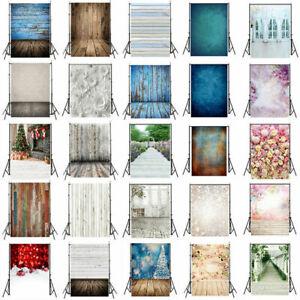 Multi-type Photography Background Backdrop Photo Wood Floor Flower Retro Tie Dye