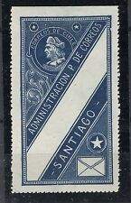 CHILE 1917 Oficial seal CIHLE instead CHILE MH BLUE
