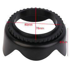 EW-60C EW60C Lens Hood Flower Crown for Canon 500D/550D/600D EF-S 55mm