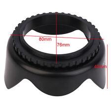 EW-60C EW60C Lens Hood Flower Crown for Canon 500D/550D/600D EF-S 55mm