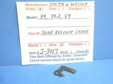 SMITH & WESSON 39, 39-2, 59 ( SEAR RELEASE LEVER - BLUE)  ( J-3017 )